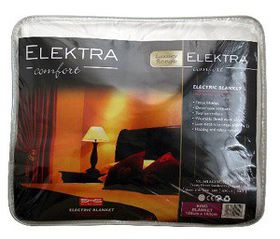 Elektra Luxury Electric Blanket - King (188cm x 183cm)