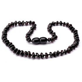 4aKid - Chip Teething Necklace - Dark Amber