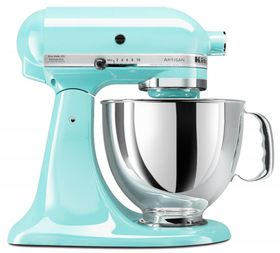 KitchenAid - Artisan Stand Mixer Ice Blue