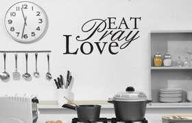 Fantastick - Eat-Pray-Love Vinyl Wall Poetry