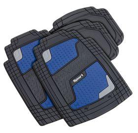 Stingray - Quadrimat 4 Piece Car Mat Set - Blue