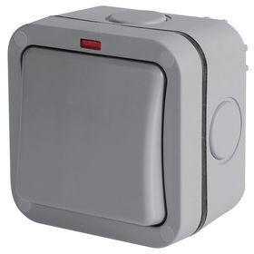 Stingray - IP66 Single Switch - Grey