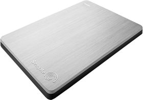 Seagate Backup Plus Portable Drive Silver - 1TB