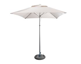 Cape Umbrellas - 2m Classic Line Mariner Square Umbrella - Ecru