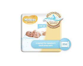 Huggies - Newborn Quad Baby Wipes - 4 X 64