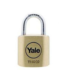 Yale - 20mm Brass Padlock
