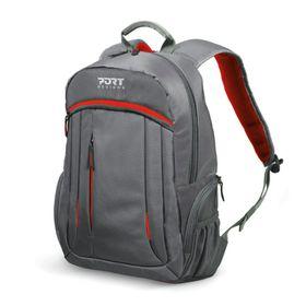 """Port Megeve 15.6"""" Laptop Backpack - Red"""