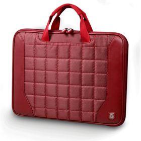 "Port Berlin 15/16"" Slim Fashion Laptop Case - Red"