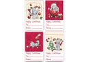 Tatty Teddy Stick-On Labels - Pack of 16