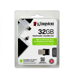 Kingston 32GB USB 3.0 Hi-Speed DataTraveler Micro - Black