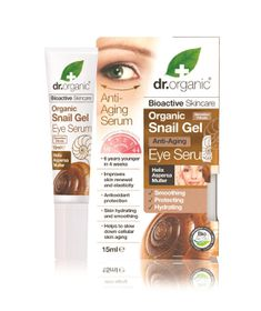 Dr. Organic Skincare Snail Gel Eye Serum - 15ml