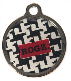 Rogz ID Tagz Small 20mm Metal Tag - Hound Dog Design