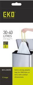 Eko - Type E 12 Bags On A Roll - 30 To 40 Litre