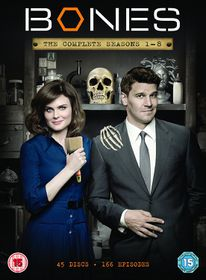Bones Seasons 1 - 8 (DVD)