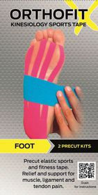 Orthofit X Kinesiology Sports Tape - Foot