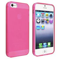 Pink Frosted TPU Case for iPhone 5/5s