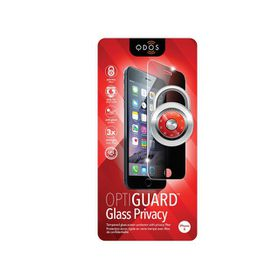 QDOS OptiGuard Glass Screen Protector for iPhone 6 with Privacy Filter
