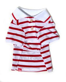 Dog's Life - Gentleman's Polo Shirt Red - Extra-Small
