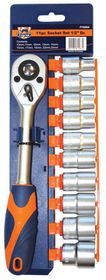 "Fragram - 1/2"" Socket Drive Set - 11 Piece"