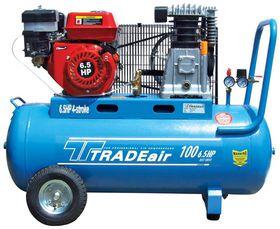 TradeAir - 6.5HP Petrol Compressor - 100 Litre