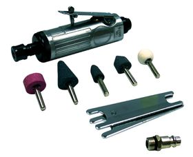 TradeAir - Die Grinder Kit With 5 Moulded Stones