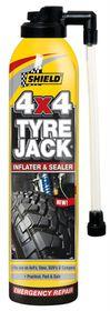 Shield - Tyre Jack 4X4 Emergency Inflator and Sealer 500Ml