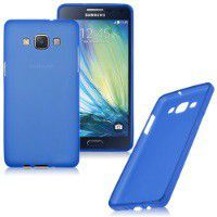 Blue Frosted TPU Cover Case for Samsung Galaxy A5