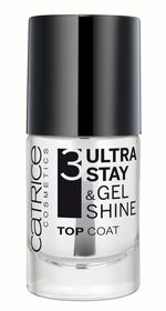 Catrice Ultra Stay & Gel Shine Top Coat - Transparent