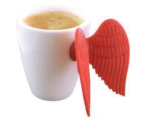 Pylones Angel Red Espresso Mug