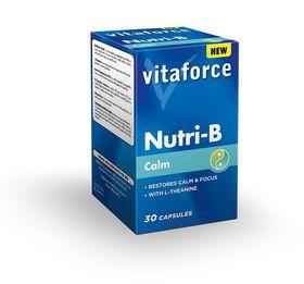 Vitaforce Nutri-B Calm (2Phase) Tablets - 30's