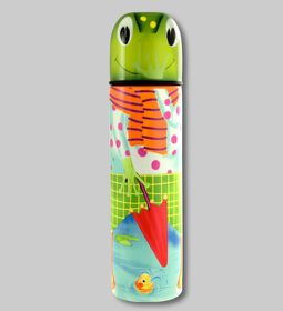 Pylones Frog Small Thermos - Green
