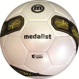 Medalist Exact Soccer Ball - White/Gold - Size 5