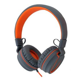 Polaroid Foldable Stereo Headphone with Inline Mic - Orange