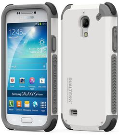 PureGear Dualtek for Samsung S4 Mini - Arctic White