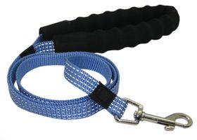 Pucci - Lead With Soft Handle - Blue - Extra-Large (25cm x 120cm)