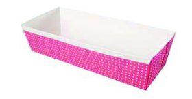 Eddingtons - Pink Paper Loaf Pans - 0.45kg