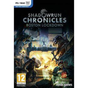 Shadowrun Chronicles - Boston Lockdown (PC, DVD)