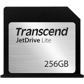 """Transcend 256GB Jetdrive Lite 130 - Storage Expansion For MacBook Air 13"""" Late 2010 to Early 2015"""