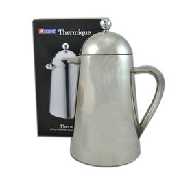 Regent Coffee Maker Double Wall Stainless Steel Thermique - 800ml