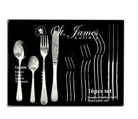 St James Cutlery - Oxford Stainless Steel Cutlery - 16 Piece