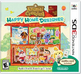 Animal Crossing: Happy Home Designer + Card (3DS)