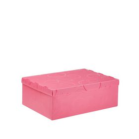 Meeco Creative Collection P.P Foolscap Size Storage Box - Pink