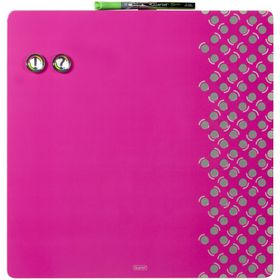 Quartet Combination Dry Erase & Pin Board - Pink