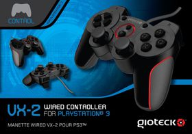 Gioteck - VX-2 Wired Controller (PS3)