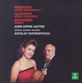 Anne-Sophie Mutter - Glazunov & Prokofiev : Violin Concertos (CD)