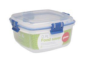 Gizmo Plastic Food Storage Clip Container - 900ml