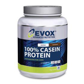 Evox 100% Casien Protein Chocolate - 1kg