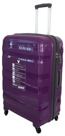 Tosca Flite PP Spinner 65 cm Cabin Case - Purple/Grey