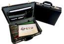 Tosca Executive PVC Attache Case with Combo Locks - Expandable - Black