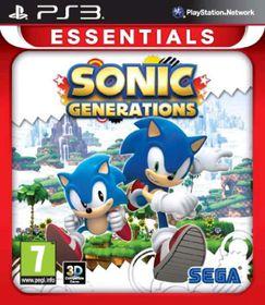 Sonic Generations (Essentials) (PS3)